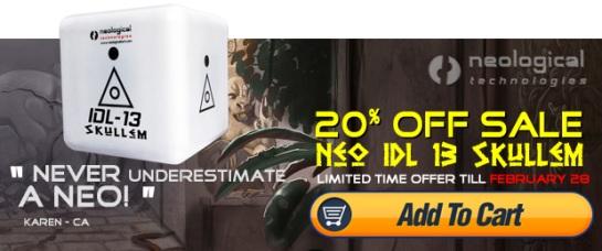 20% Neo IDL13 Skullems