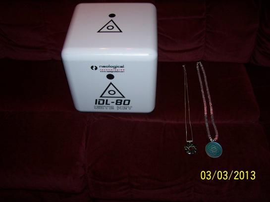 Pendant Solar Logos and IDL